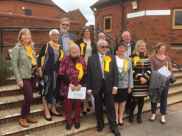 MVDC elected LibDems 2019